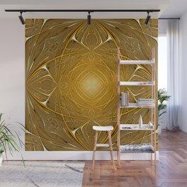 Gold ornament Wall Mural