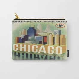 Vintage poster - Chicago Carry-All Pouch