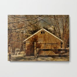 The Second Chance Barn Metal Print