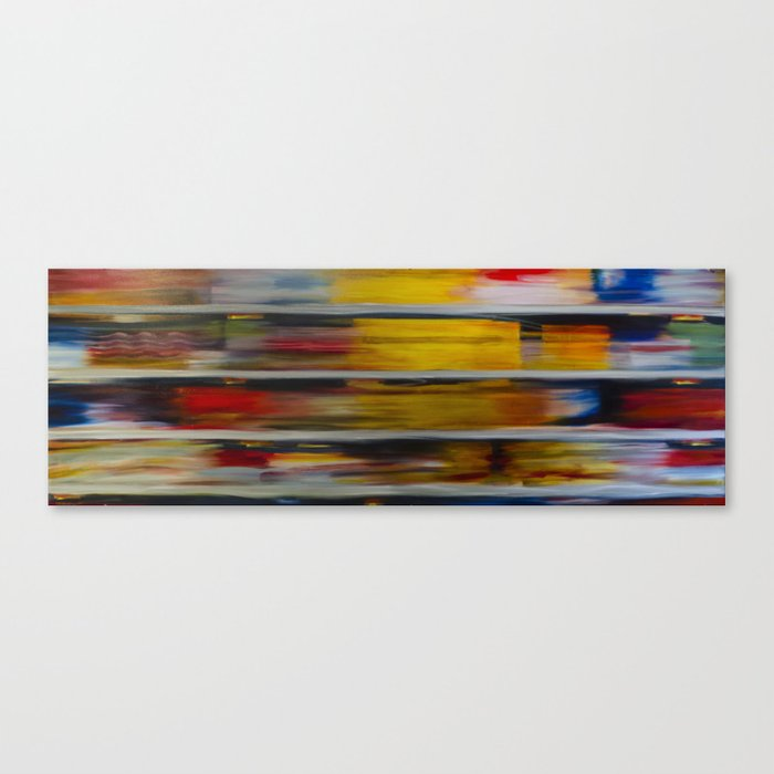 Cereal Aisle Canvas Print
