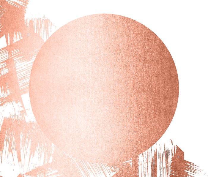 Sun Paint Swipes in Sweet Peach Shimmer Metal Travel Mug