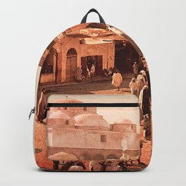 Vintage Babylon photograph Backpack