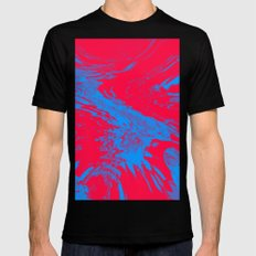 Fire and Ice Mens Fitted Tee Black SMALL