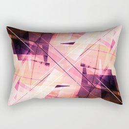 Sunbound - Geometric Abstract Art Rectangular Pillow