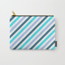 Simply Blue Stripes Carry-All Pouch
