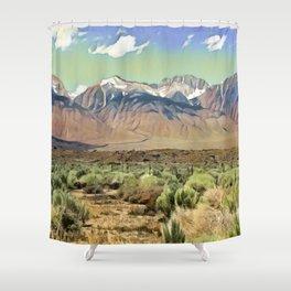 Sierra Nevada I Shower Curtain