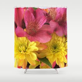 Pink Lemonade Shower Curtain