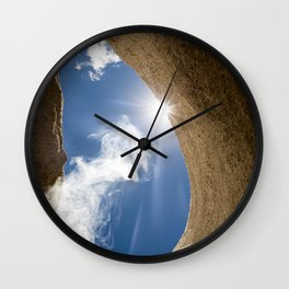 Lung of the Sky Wall Clock