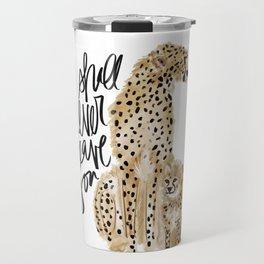 Cheetah Love Travel Mug