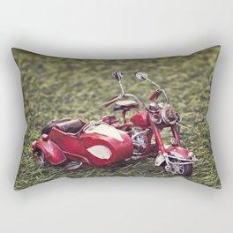 Metal sidecar Rectangular Pillow