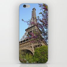Spring Time in Paris iPhone & iPod Skin