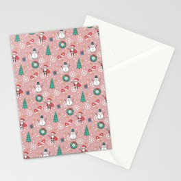 New Year Christmas winter holidays cute Stationery Cards