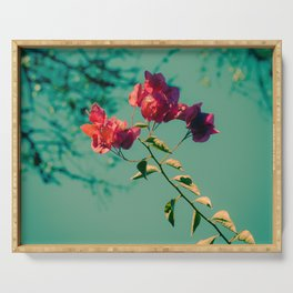 Bougainvillier Serving Tray