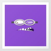 minion Art Prints featuring MINION by Acus