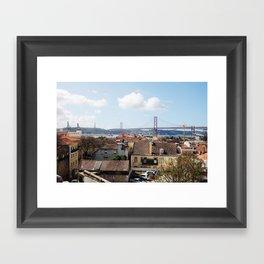 Love, Lisbon Framed Art Print