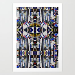 """""""Neurotic mass"""" by Richard Schemmerer Art Print"""