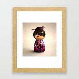 Kokeshi 05 Framed Art Print