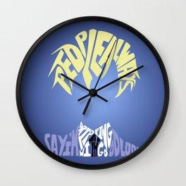 tamaki suoh Wall Clock