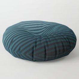 Stripeylicious OceanBlue Floor Pillow