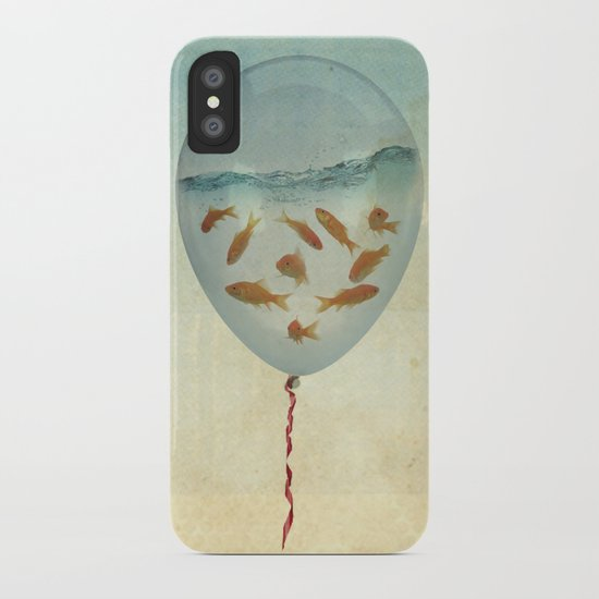 balloon fish 03 iPhone Case