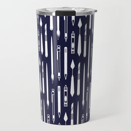 Create (dark blue version) Travel Mug