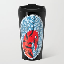 Smug red horse 2. Travel Mug