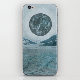 GLACIER MOON TWO iPhone Skin