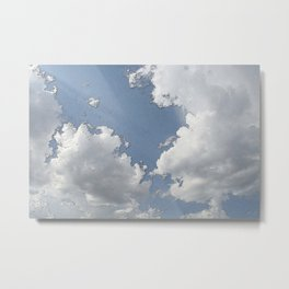 Map of the Sky Metal Print