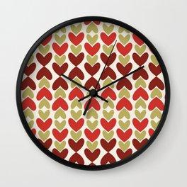 All Hearts Wall Clock