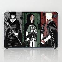 dark souls iPad Cases featuring Souls Waifus by Shadyfolk