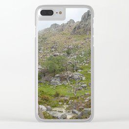 Rocky mountains at Geres National Park Clear iPhone Case