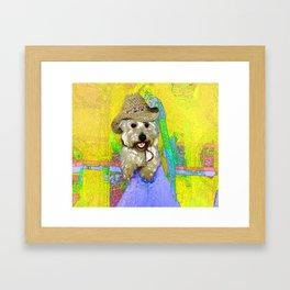 West Highland White Terrier - Ready To Go? Framed Art Print
