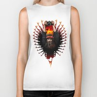 apocalypse now Biker Tanks featuring Apocalypse now by LukArt