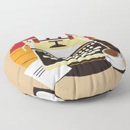 Writer Floor Pillow