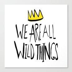 Wild Things II Canvas Print