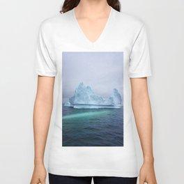 Arctic Glacier Unisex V-Neck