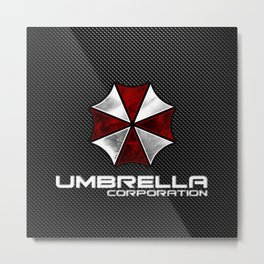 Umbrella Corporation Metal Print