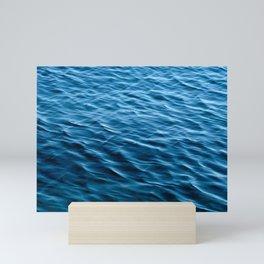 Wavy Ocean Surface Mini Art Print