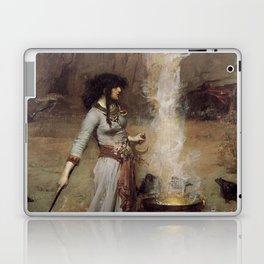 The Magic Circle, John William Waterhouse. Laptop & iPad Skin