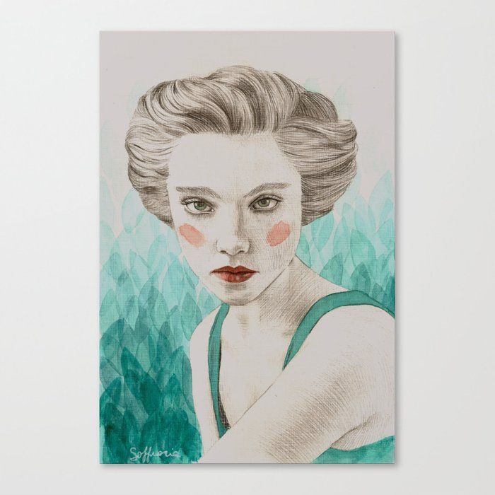 Hera Canvas Print