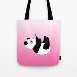 Playful Panda Tote Bag