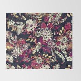 Space Garden II Throw Blanket