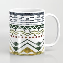Ethnic Stencil Coffee Mug