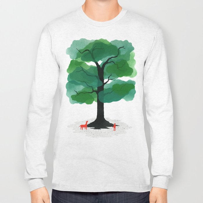 Man & Nature - The Tree of Life Long Sleeve T-shirt