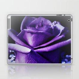 Sweet Beginnings In Purple Rose Laptop & iPad Skin