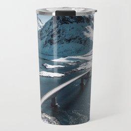 lofoten bridge Travel Mug