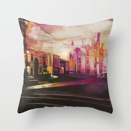Cosa c'èra prima / What was there before Throw Pillow