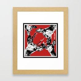 SHIKA! Framed Art Print