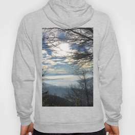 Clouds above the mountains Hoody