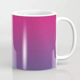 Pink Peacock Ultra Violet Gradient Pattern Coffee Mug